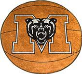 Fan Mats Mercer University Basketball Mat