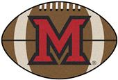 Fan Mats Miami of Ohio Football Mat