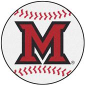 Fan Mats Miami of Ohio Baseball Mat
