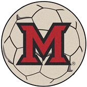 Fan Mats Miami of Ohio Soccer Ball Mat