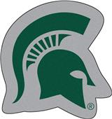 Fan Mats Michigan State University Mascot Mat