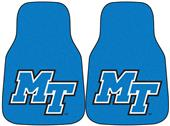 Fan Mats Middle Tennessee State Car Mats (set)