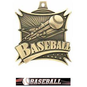 GOLD MEDAL/ULTIMATE BASEBALL RIBBON