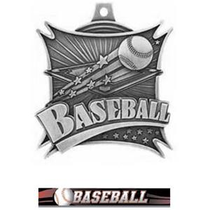 SILVER MEDAL/ULTIMATE BASEBALL RIBBON
