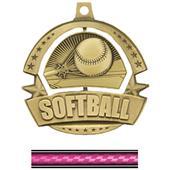 Hasty Awards Spinner Softball Medals M-720
