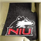 Fan Mats Northern Illinois Univ. Car Mats (set)