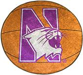 Fan Mats Northwestern University Basketball Mat