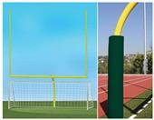HS Football Goals & Round Soccer Goals Value Pack
