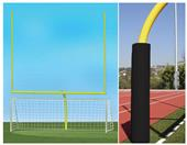 HS Football Goals & Round Soccer Goals Value Pack