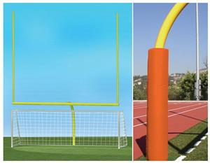 YELLOW GOAL/ORANGE PADDING