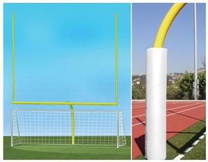 YELLOW GOAL/WHITE PADDING