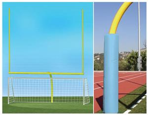 YELLOW GOAL/LIGHT BLUE PADDING