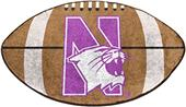 Fan Mats Northwestern University Football Mat