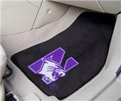 Fan Mats Northwestern Univ Carpet Car Mats (set)