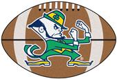 Fan Mats Notre Dame Fighting Irish Football Mat