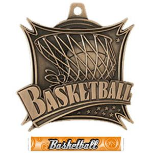 BRONZE MEDAL/GRAPHX BASKETBALL RIBBON