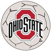 Fan Mats Ohio State University Soccer Ball