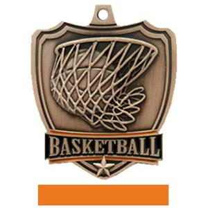 BRONZE MEDAL/ORANGE RIBBON
