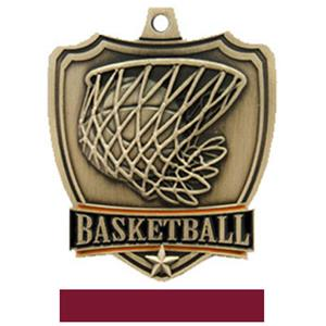 GOLD MEDAL/MAROON RIBBON