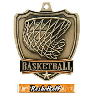 GOLD MEDAL/GRAPHX BASKETBALL RIBBON