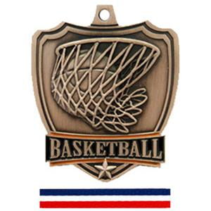 BRONZE MEDAL/(RWB) RED WHITE & BLUE RIBBON