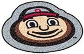 Fan Mats Ohio State University Mascot Mat