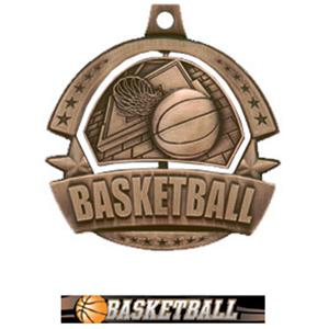BRONZE MEDAL/ULTIMATE BASKETBALL RIBBON