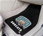 Fan Mats Ohio Univ Carpet Car Mats (set)