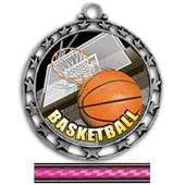 "Hasty Awards 2.5"" Basketball HD Insert Medals"