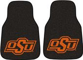 Fan Mats Oklahoma State Univ Carpet Car Mats (set)