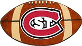 Fan Mats St. Cloud University Football Mat