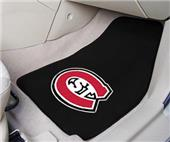 Fan Mats St. Cloud State Univ Carpet Car Mats(set)