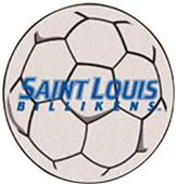Fan Mats St. Louis University Soccer Ball Mat