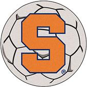 Fan Mats NCAA Syracuse University Soccer Ball Mat