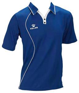 E4363 kelme garra polo coaches soccer shirts closeout for Soccer coach polo shirt