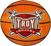 Fan Mats Troy University Basketball Mat