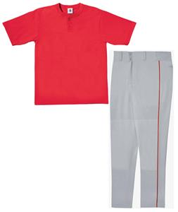 INCLUDES E27065 14 OZ OPEN BOTTOM PANTS W/PIPING