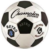 Champion Retro Classic Old School Club Soccer Ball