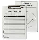 Champro Baseball/Softball Coaches Dry Erase Board