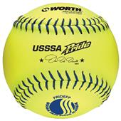 Worth USSSA Pride Leather Fastpitch Softballs CO