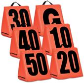 Champro Sports Solid Weighted Football Yard Marker
