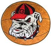 Fan Mats University of Georgia Basketball Mat