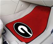 Fan Mats Univ of Georgia Red Carpet Car Mats (set)