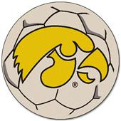 Fan Mats University of Iowa Soccer Ball.