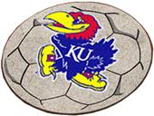 Fan Mats University of Kansas Soccer Ball