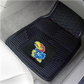 Fan Mats Univ of Kansas Vinyl Car Mats (set)
