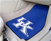 Fan Mats University of Kentucky UK Car Mats (set)
