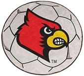 Fan Mats University of Louisville Soccer Ball