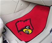 Fan Mats Univ of Louisville Carpet Car Mats (set)