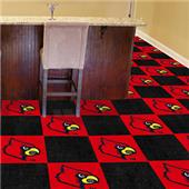 FanMats University of Louisville Team Carpet Tiles
